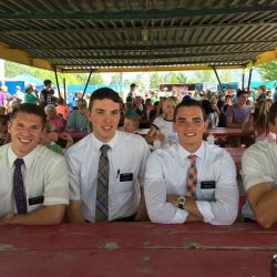 Cute faces at south Weber days