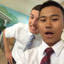 Elder Hall and Elder Sangsuwan
